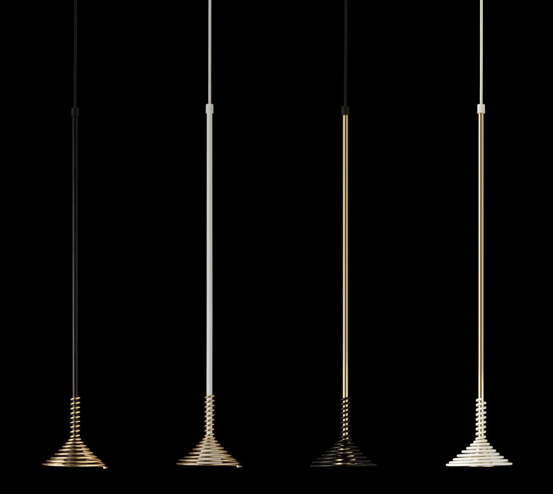 Lobelia by Sergi Ventura - suspension lamp with an elegant flower shape