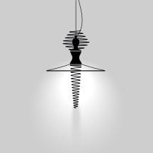 Light distribution of the Mia Ballerina suspension lamp