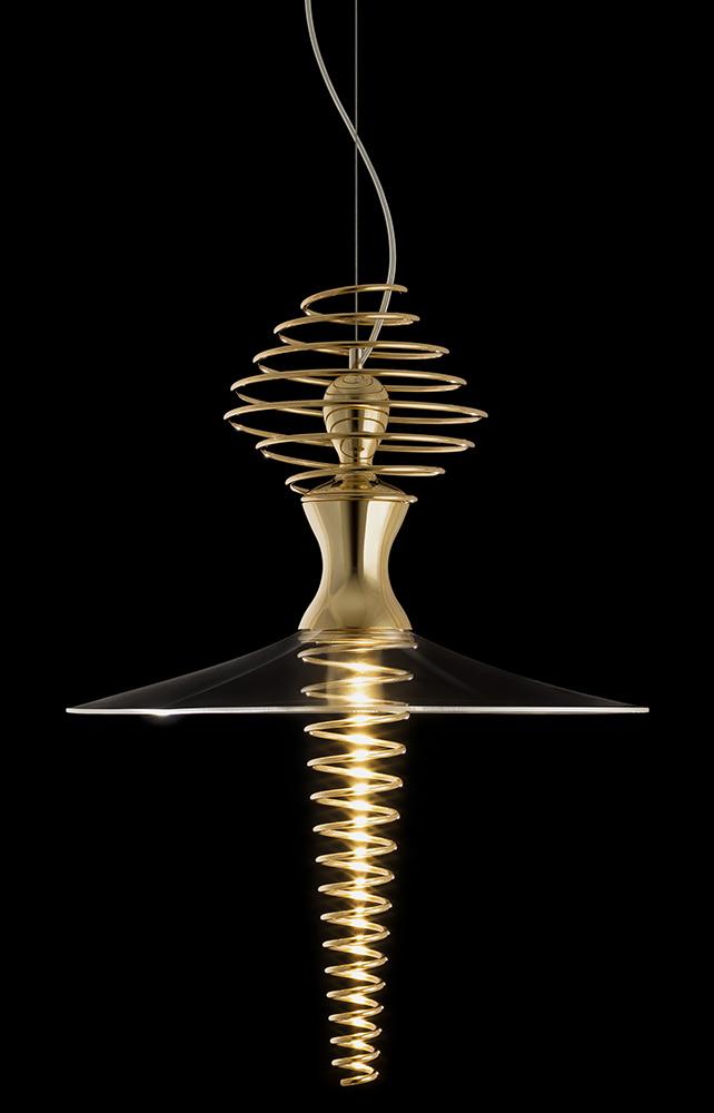 Mia Ballerina by Sergi Ventura - Mia Ballerina suspension lamp dacing like a ballet dancer