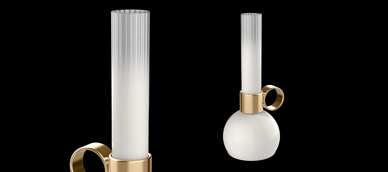 Portobello portable lamp by Sergi Ventura